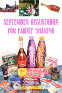 September Degustabox For Family Sharing, a review by Castle View Academy homeschool