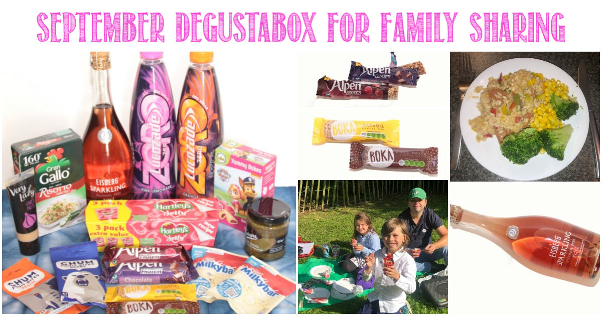 September Degustabox For Family Sharing, a review by Castle View Academy