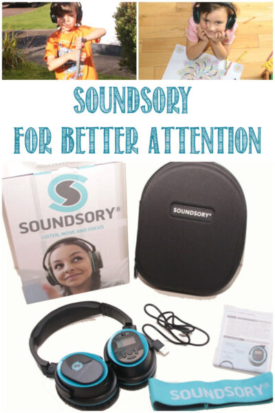 Soundsory For Better Attention at Castle View Academy homeschool