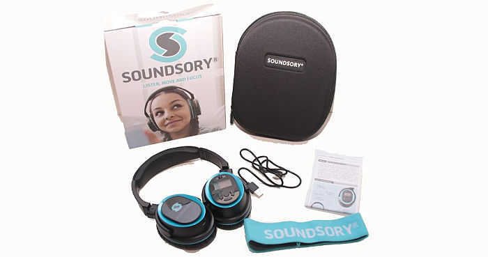 Soundsory package contents