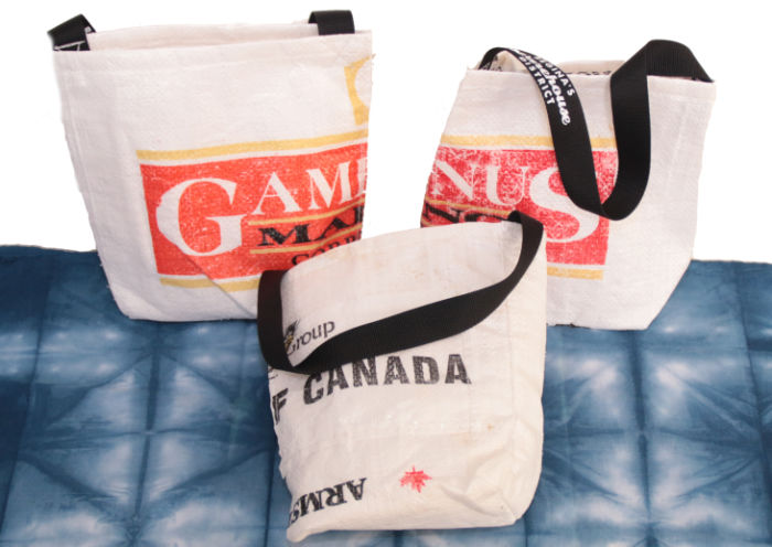 Warehouse growler bags