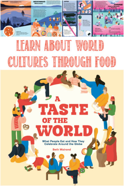 A Taste of the World reviewed by Castle View Academy homeschool