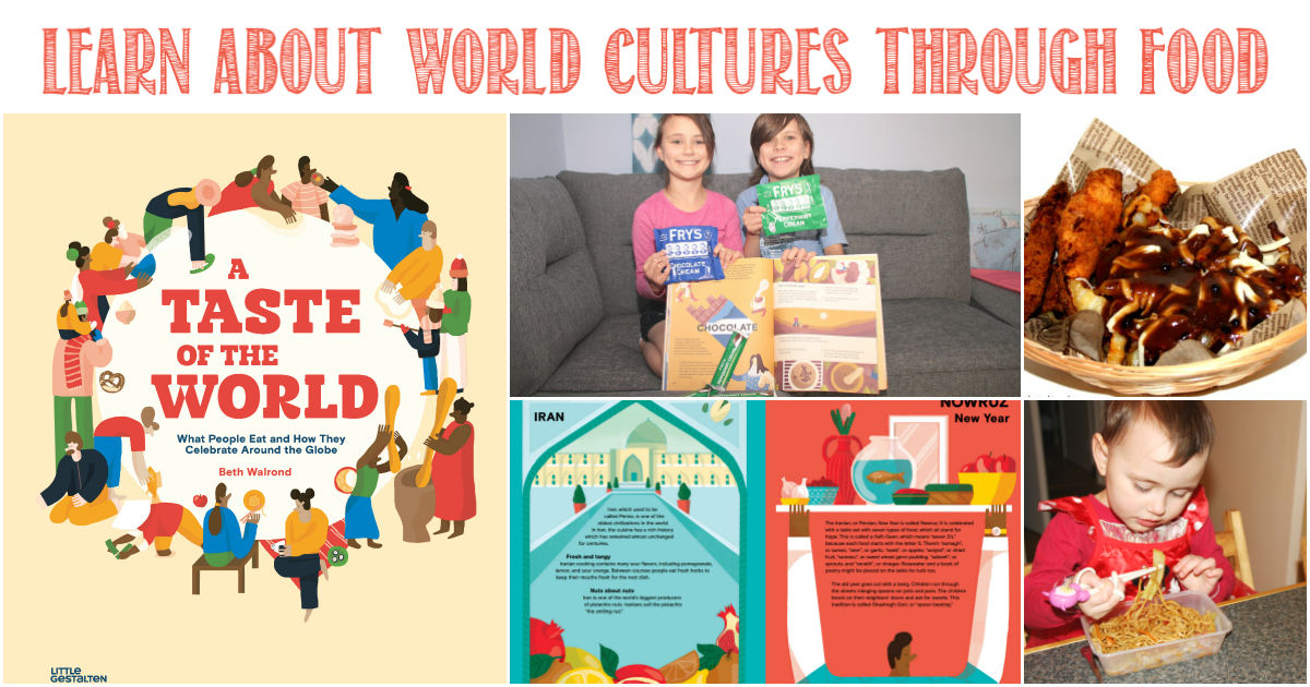 A Taste of the World reviewed by Castle View Academy