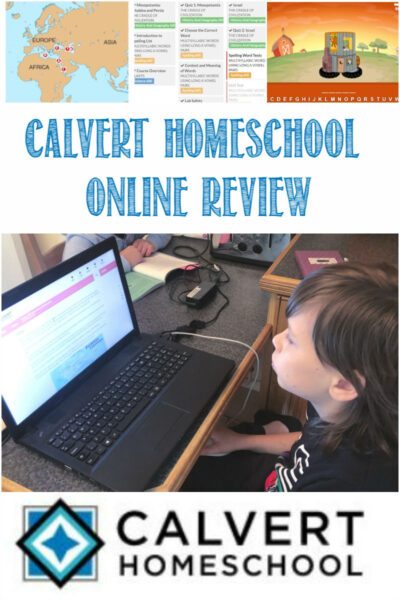 Calvert Homeschool Online Review by Castle View Academy homeschool