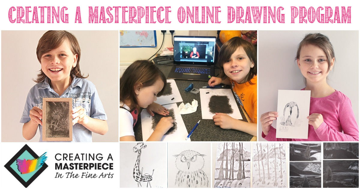 Creating A Masterpiece Online Art Program Reviewed by Castle View Academy