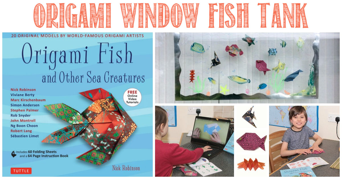 Origami Window Fish Tank at Castle View Academy