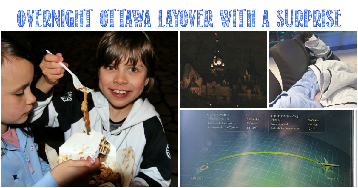 Overnight Ottawa layover with a surprise for Castle View Academy homeschool