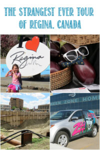 The Strangest Ever Tour of Regina, Canada with Castle View Academy