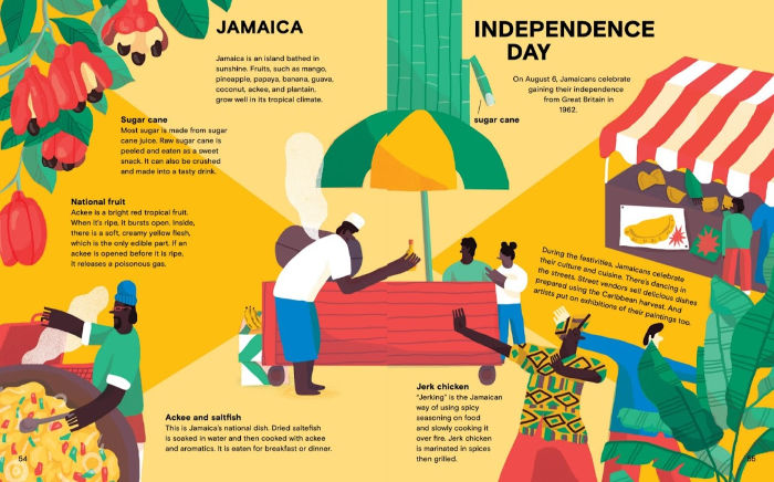 foods and festivals of Jamaica