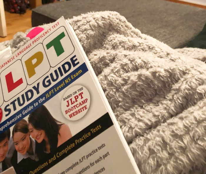 Brushing up on Japanese with the JLPT Study Guide