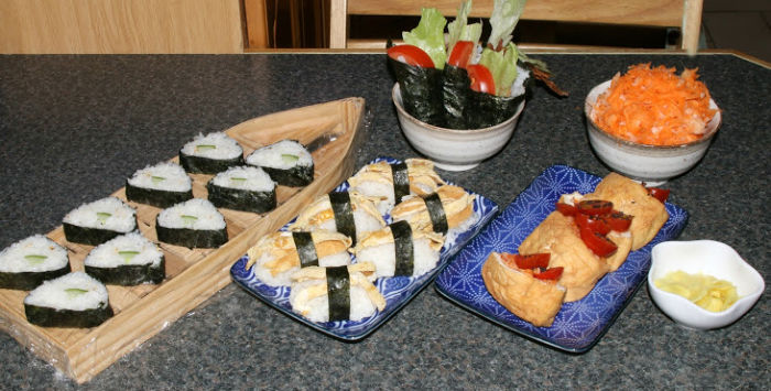 Japanese food to go along with The Big Wave