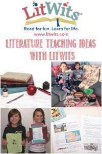 Literature Teaching Ideas with LitWits, reviewed by Castle View Academy homeschool