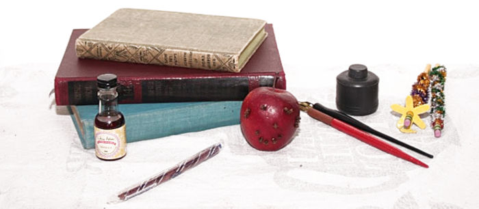 Litwits Anne of Green Gables Props used at Castle View Academy homeschool