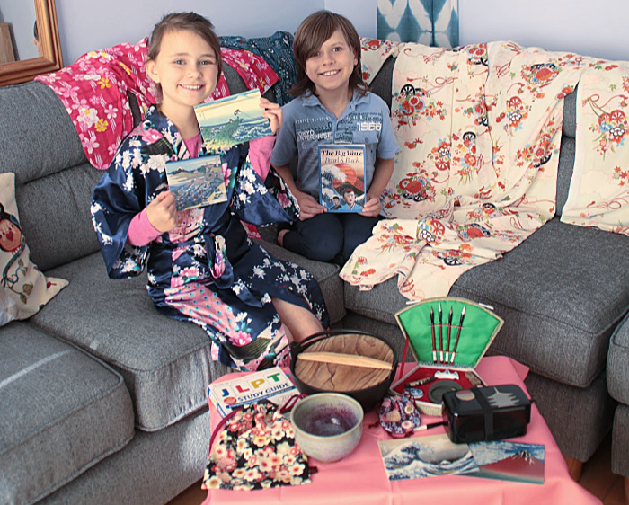 Litwits The Big Wave Props used at Castle View Academy homeschool