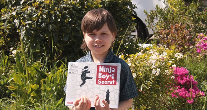 Ninja Boy's Secret is a favourite with Castle View Academy homeschool