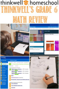 Thinkwell's Grade 6 Math Reviewed by Castle View Academy homeschool