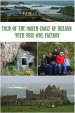 Tour of the North Coast of Ireland With Wise Owl Factory and Castle View Academy homeschool