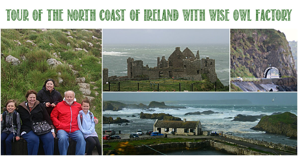 Tour of the North Coast of Ireland With Wise Owl Factory and Castle View Academy