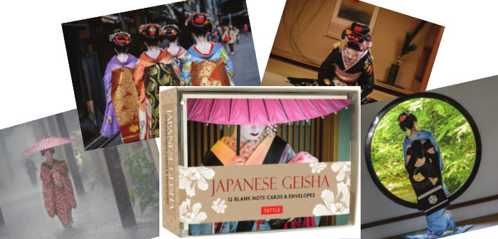 Geisha Note Cards