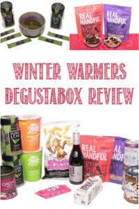 winter warmers degustabox review by Castle View Academy homeschool
