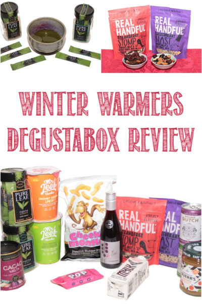 winter warmers degustabox review by Castle View Academy homeschool