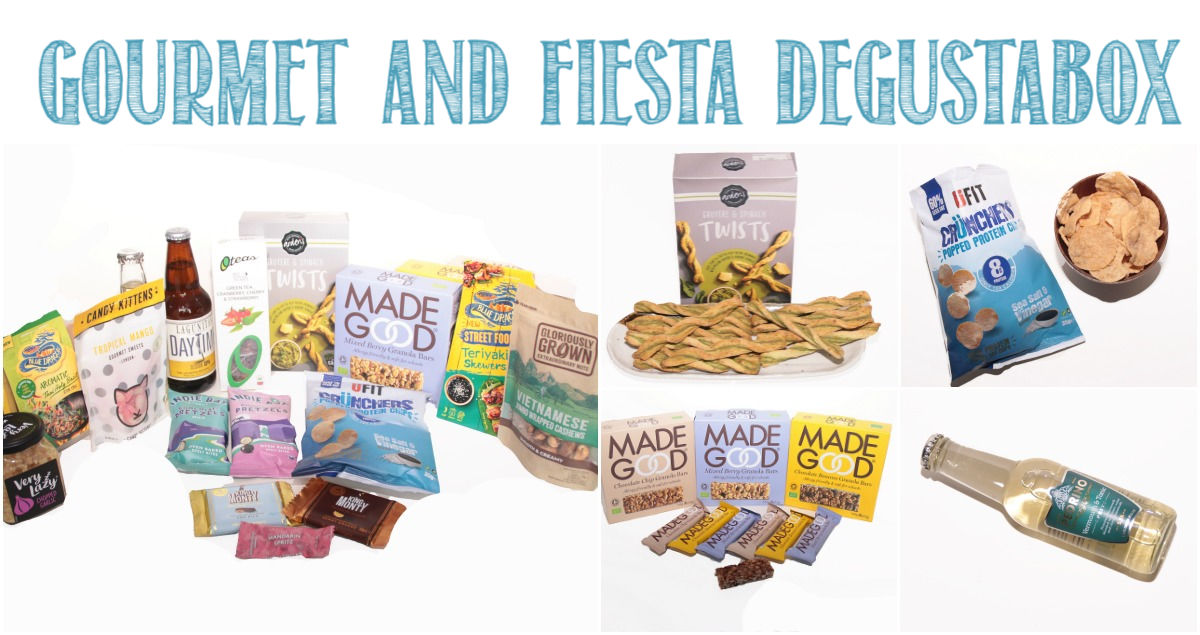 Gourmet And Fiesta Degustabox Reviewed by Castle View Academy homeschool