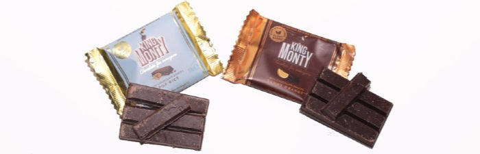 King Monty Chocolate bars