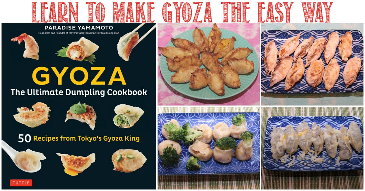 Learn to make gyoza the easy way - Castle View Academy homeschool reviews Gyoza