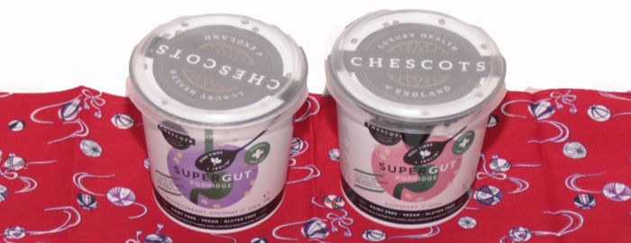Chescots SuperGut porridge pots