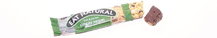 Eat Natural simply vegan peanuts coconut and chocolate
