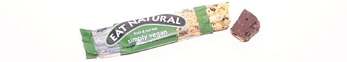 Eat Natural simply vegan peanuts coconut and chocolate