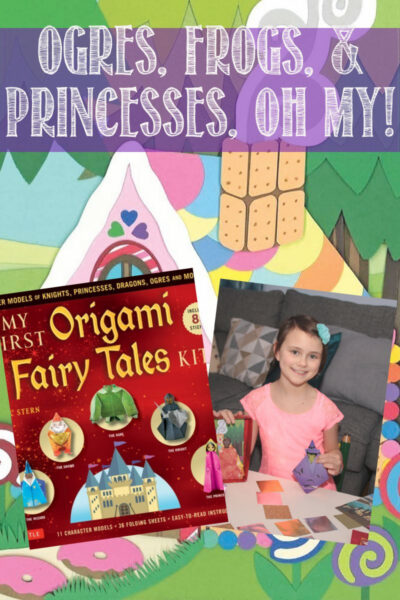 Fairy Tales Origami Kit Brings out your imagination