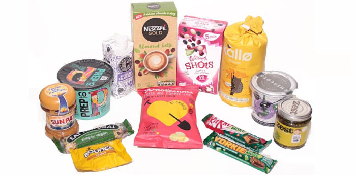 February degustabox contents