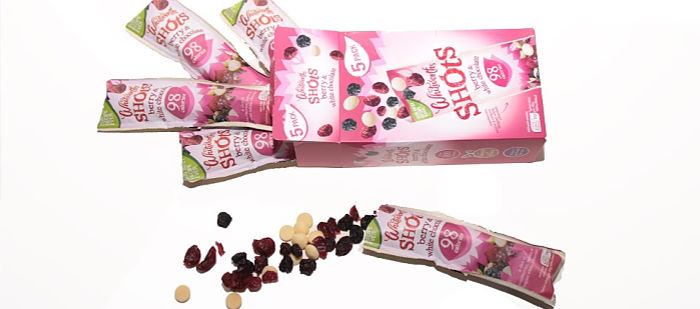 Withworths shots berry and white chocolate
