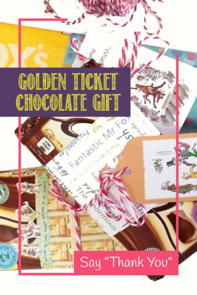 Golden Ticket chocolate gifts to say Thank You
