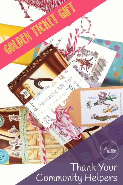 Thank Community Workers With A Golden Ticket Chocolate Gift