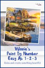 Relaxing with Winnie's Paint By Number