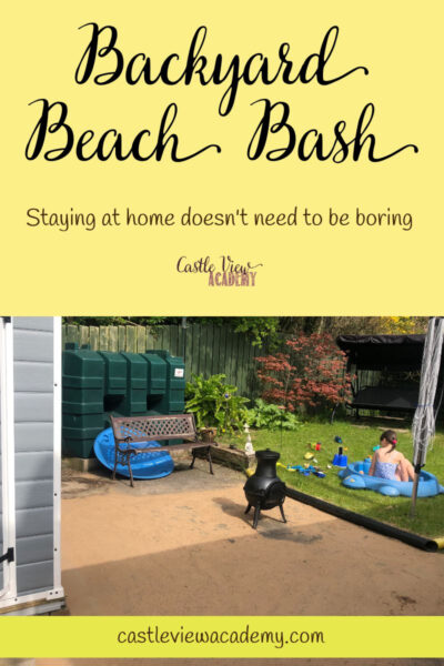 Stay Home With a Backyard Beach Bash