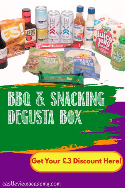 BBQ & Snacking Degusta Box Reviewed by Castle View Academy