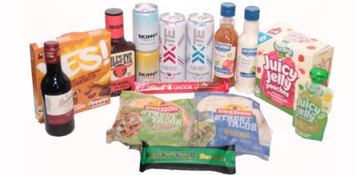 BBQ & Snacking Degustabox contents