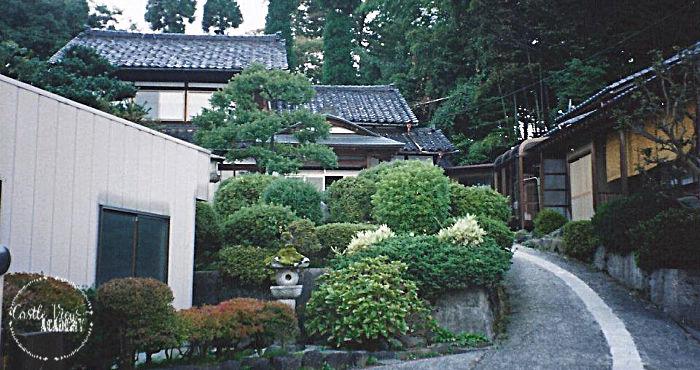 Finding my way around a village in Toyama-ken Japan