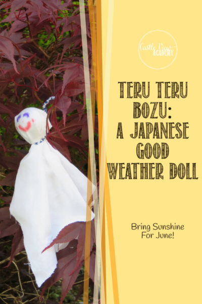 Teru Teru Bozu Japanese Doll Craft For Sunny Weather