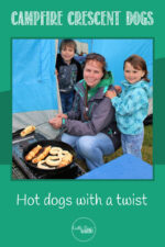 Campfire crescent dogs - Hot dogs with a twist
