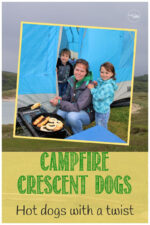 Campfire hot dogs with a twist