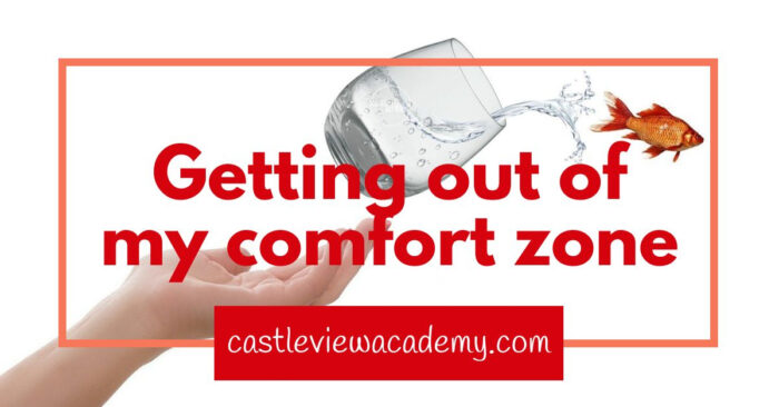 Getting out of my comfort zone this year
