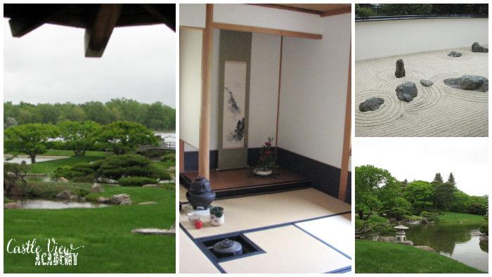 Nikka Yuko Japanese Garden in Lethbridge with Castle View Academy