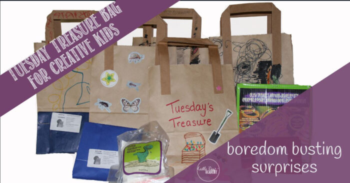 Tuesday Treasure bags for bored kids