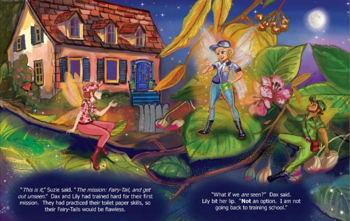 Fairy-Tailed Wish inside