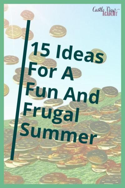 Fugal Summer Ideas