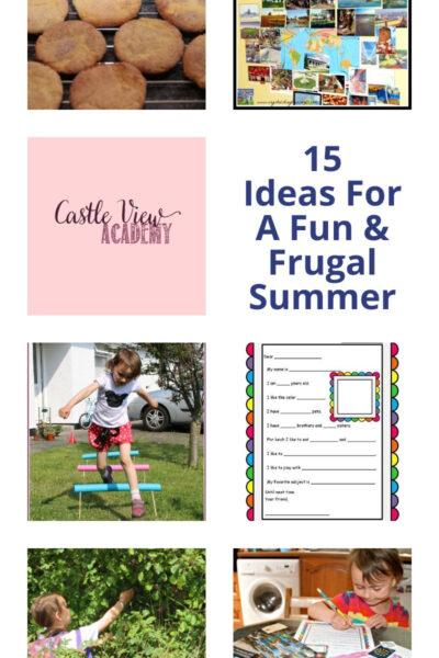 Ideas For A Fun & Frugal Summer